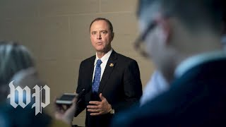 Watch live: Schiff announces public hearings in impeachment inquiry