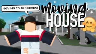 Moving House! | Roblox Bloxburg (Roleplay)