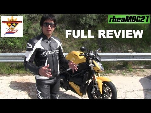 Ducati Street Fighter 848 Full Review - A thorough, solid & honest review