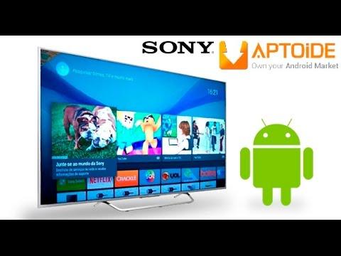 Como Instalar o Aptoide Market na Sony Android TV
