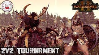 2v2 TOURNAMENT - Total War Warhammer 2 - Online Battle 283