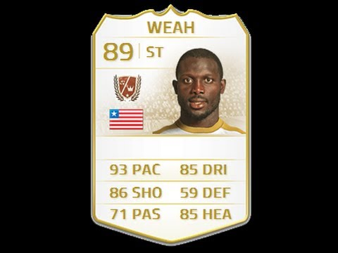 FIFA 14 NEXT GEN LEGEND WEAH 89 Player Review & In Game Stats Ultimate Team Xbox One