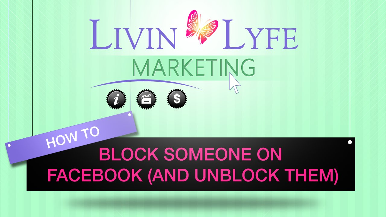 How to Block Someone on Facebook (and Unblock them) - YouTube