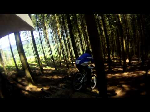 Downhill _ Onbike camera
