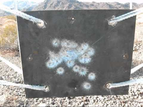10mm auto vs metal plate #2 Glock 20
