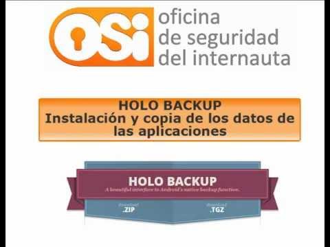 Descarga y copia de seguridad de datos de aplicaciones y datos del dispositivo