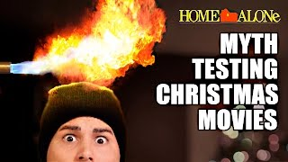 Myth-testing Christmas movies with SCIENCE EXPERIMENTS (ft. Vsauce3)