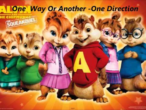 One Way Or Another - One Direction- Alvin And The Chipmunks Official video