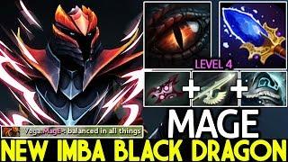 Mage- [Dragon Knight] New Black Dragon Super Tank 56 Armor -80% Damage 7.22 Dota 2