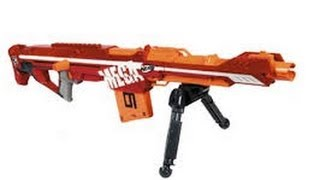 NERF MEGA Centurion Unboxing and Review