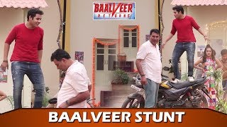 Baalveer Returns: Dev Joshi Performs Bike Stunt On Set| Behind The Scene