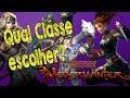 D&D Neverwinter:   Qual classe devo escolher?