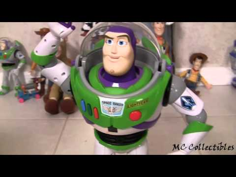 Talking Buzz Lightyear Ultimate Fighter Action Figure Disney Pixar Toy Story 3 by Blucollection