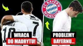Cristiano Ronaldo wraca do Madrytu ! Problemy Bayernu Monachium w zespole...   FOOTBALL NEWS