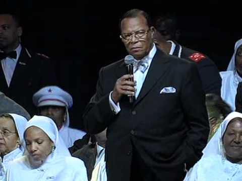Minister Farrakhan on Ghaddafi & Libya (Feb 27, 2011) 1 of 2