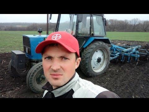 ЮМЗ-6 с аг-2,4 - заделка развальных борозд  #СельхозТехника ТВ