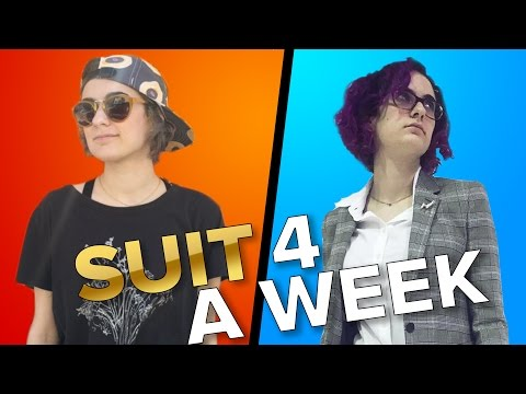 People Wear A Suit For A Week