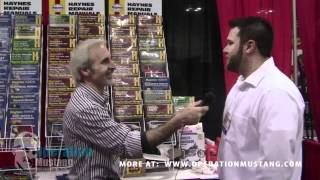 The Doc talks to Haynes at AutoWares Show