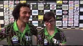 Ottobiano 2015: intervista con Mattoni-Corsini, Sidecar Cross