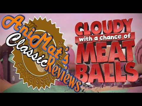 Cloudy With A Chance of Meatballs AniMats Classic Reviews