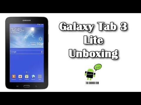 Samsung Galaxy Tab 3 Lite Unboxing