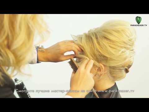 Изысканная вечерняя прическа Evening hairstyle for long hair parikmaxer tv парикмахер тв
