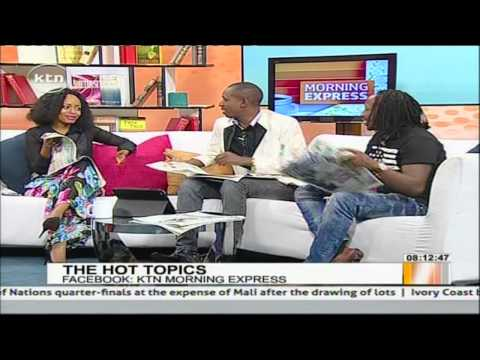 President Uhuru Kenyatta And Governor Evans Kidero Hula Hoop video