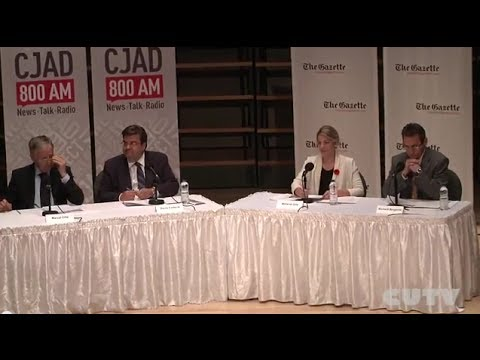 Oct 25th All Candidates Debate  Mayoral Montreal
