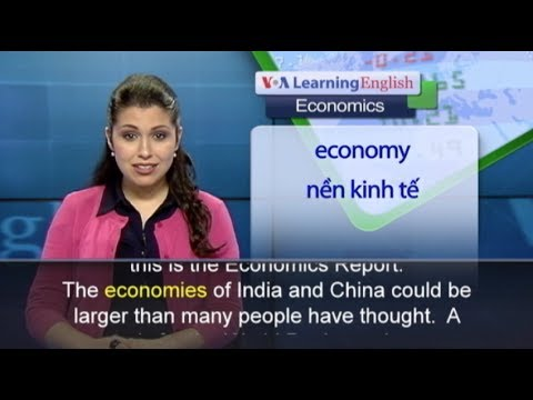 Anh ngữ đặc biệt: Emerging Economies (VOA-Econ)