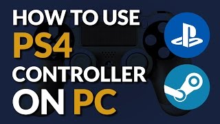 Connect a PS4 Controller to Steam Tutorial | Connect PS4 Controller to PC Tutorial | mmtuts