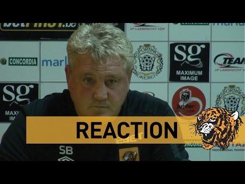 KSC Lokeren OV v Hull City | Reaction With Steve Bruce