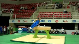 Rio de Janeiro - Test Event: Matteo Morandi / Cavallo con maniglie (qualifiche)