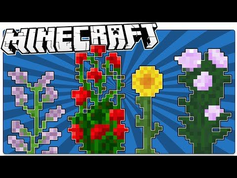 Minecraft   Facts About Flowers You May Not Have Known (Minecraft Facts / Trivia)