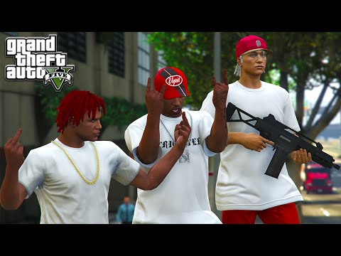 GTA 5 ONLINE - GANG GANG !! (GTA 5 Funny Moments)