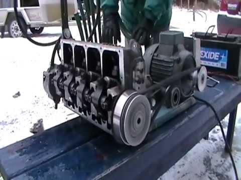 Spridartest VW diesel 1.9 TDI AJM