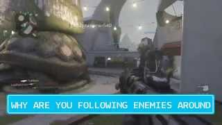 call of duty advanced warfare FOLLOWING NOOBS EP1 (funny moments,fail,epic)