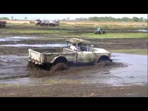 okeechobee mudfest 2012 A BAD ASS KAISER JEEP  Mikey Egner