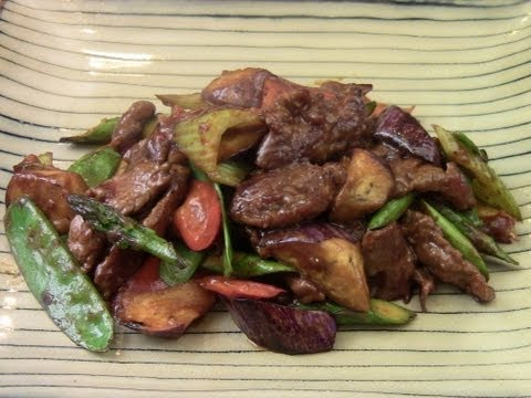 Stir Fried Beef With Mixed Vegetables