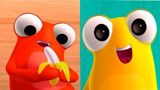 Мультфильм БиБоп Блокс. Развивающий мультик-приложение для детей про смешные кубики