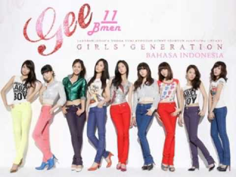 11. Girls Generation (SNSD) - Gee (Versi Indonesia - Bmen)