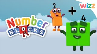 Numberblocks - Learn to Count   Adding Numbers   Wizz   Cartoons for Kids