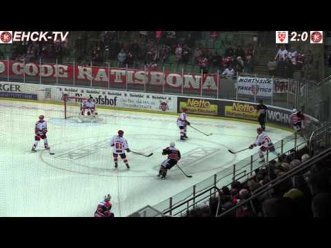 EV Regensburg vs. EHC Klostersee (2.11.2014)