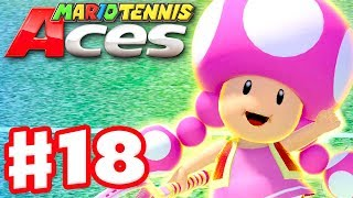 Mario Tennis Aces - Gameplay Walkthrough Part 18 - Toadette! Online Tournament! (Nintendo Switch)