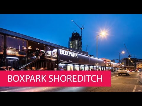 BOXPARK SHOREDITCH - UNITED KINGDOM, LONDON
