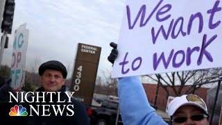 The Voices Of The Shutdown: Over 800,000 Government Workers Going Without Pay | NBC Nightly News