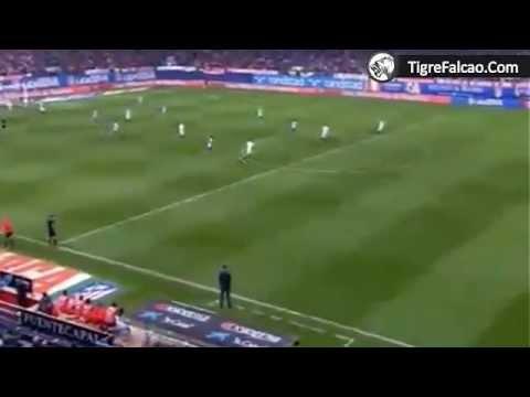 Asistencia Falcao Gol de Arda Turan Atlético Madrid 4 0 Sevilla 25 11 2012
