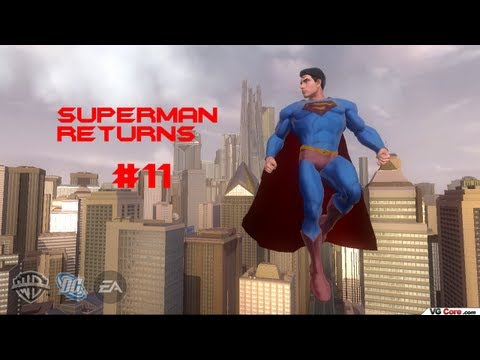 Let's Play Superman Returns (Blind) Part 11 -BIZARRO AND DRAGONS