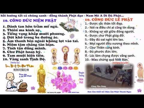 10 Công Niệm Phật Ra Tiếng Và Lễ Phật