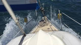 S/V Southern Cross Ep. 27 - 20 knots of wind