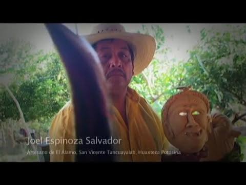 Huaxteca TV -  San Vicente Tancuayalab - Artesano de Máscaras